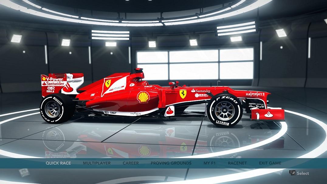 F1 2012 - Ferrari F138 HD Car Skin Update_ pic1