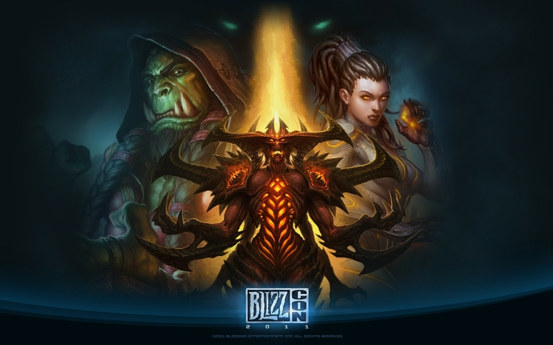 world of warcraft blizzard entertainment diablo iii starcraft heart of swarm sarah kerrigan queen o_www.wall321.com_77