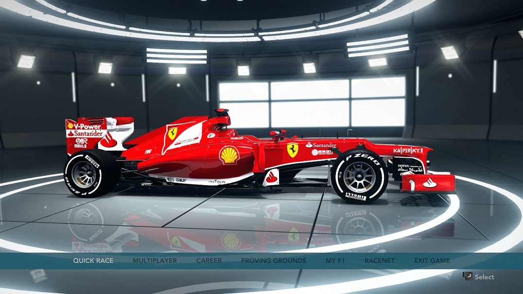 F1 2012 - Ferrari F138 HD Car Skin Update_ pic1
